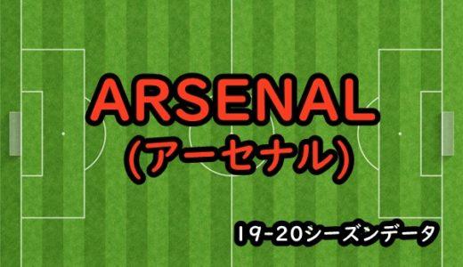 【アーセナル】19-20シーズンクラブデータ/選手リスト/移籍情報