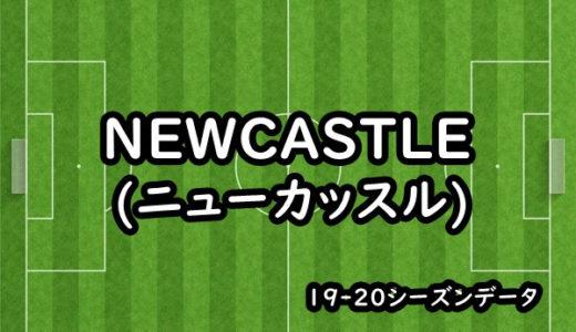 【ニューカッスル】19-20シーズンクラブデータ/選手リスト/移籍情報